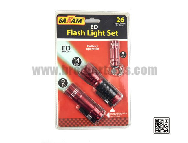 ED  Flash Light Set