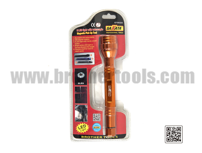 6 LED light with telescopic   Magnetic Pick Up Tool