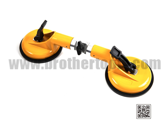 Double Vacuum Cup Sucker Tool for Glass Suction Cup Lifter