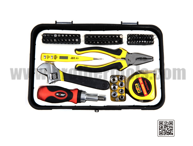 Daily household hardware tool kit combination