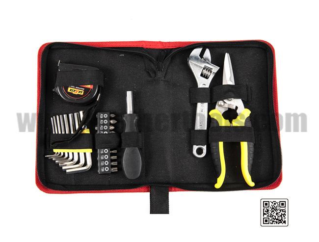 Starter hand tool kit combination