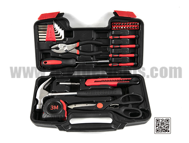 Plastic Toolbox Storage Case Box Hand Tool Set
